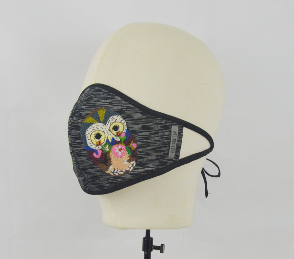 Tina - 5 Layer Mask (Limited Edition) - Black - F