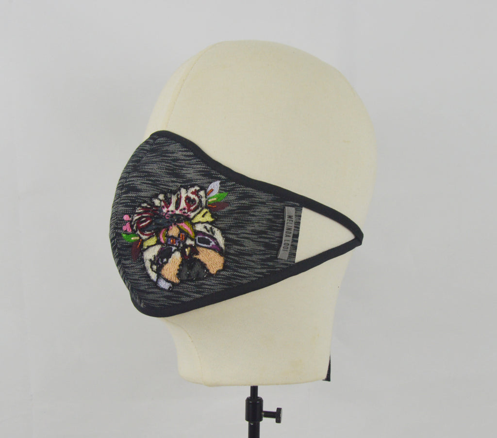 Raymathy - 5 Layer Mask (Limited Edition) - Black - F