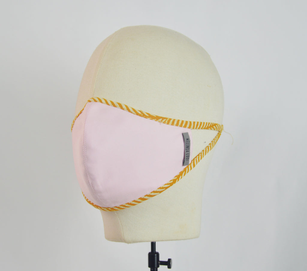 Visakha - 5 Layer Mask - Pink - F