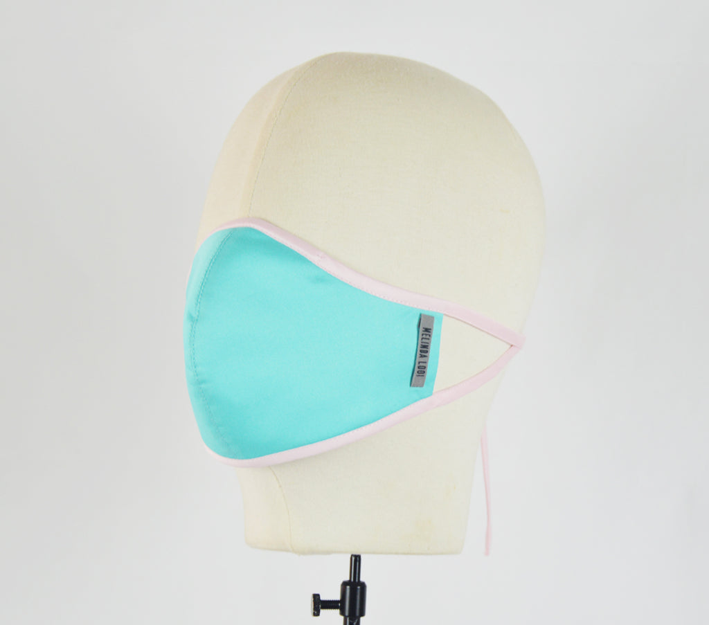 Fong - 5 Layer Mask - Teal - F