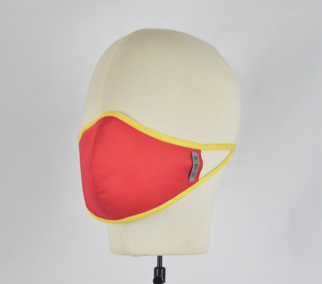 Melissa - 5 Layer Mask - Red - F