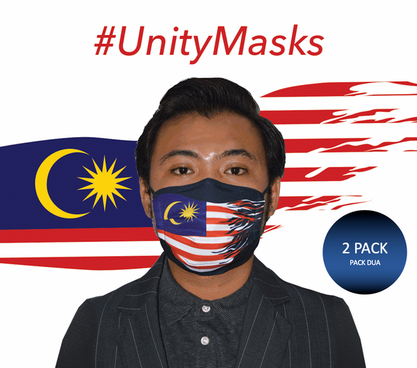 #UnityMasks - PACK DUA - Face Masks (2 Pack)