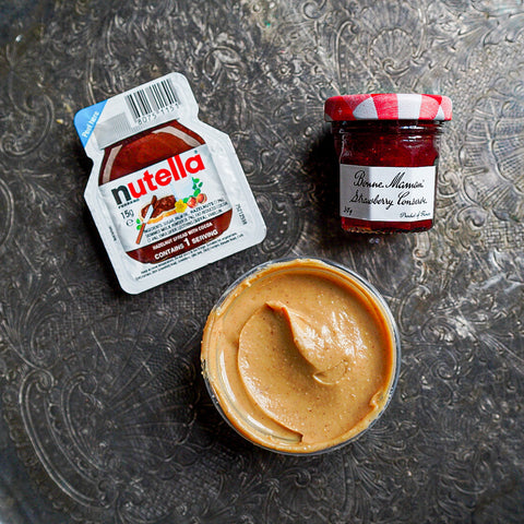 Sweet Spread Bundle (Jam, PB and Nutella)