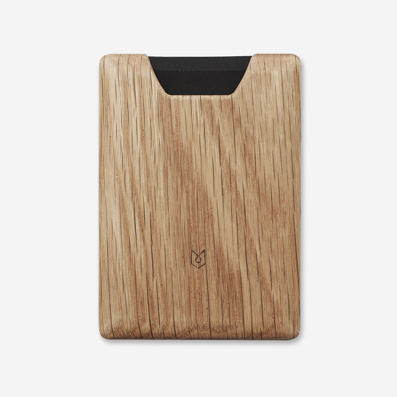 Union Wallet in Oak