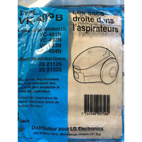 9 x Kenmore & LG Canister Vacuum Cleaner Disposable Bags, 9-count