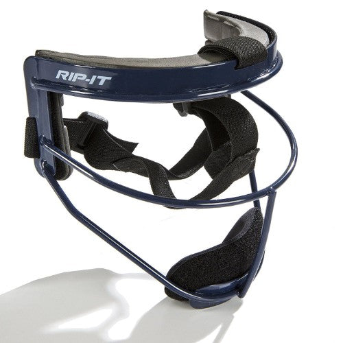 RIP-IT Adults' Defense Pro Softball Fielder's Mask Navy Blue