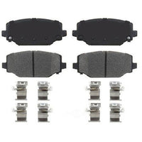 Disc Brake Pad Set-True Ceramic Brake Pads Front IDEAL TCD1596