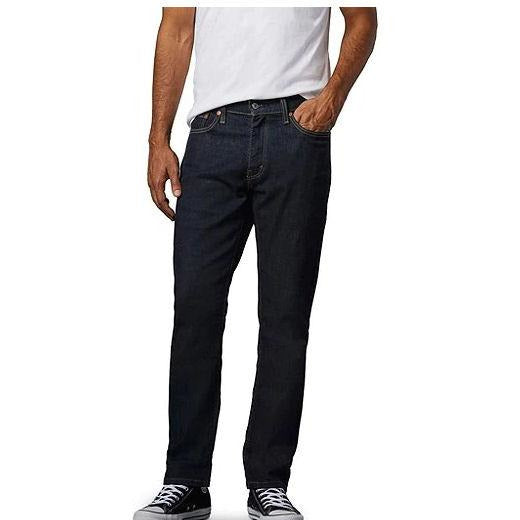 LEVI'S Jeans 541 Athletic Taper Fit Advanced Stretch pour homme - Délavé foncé 34/34