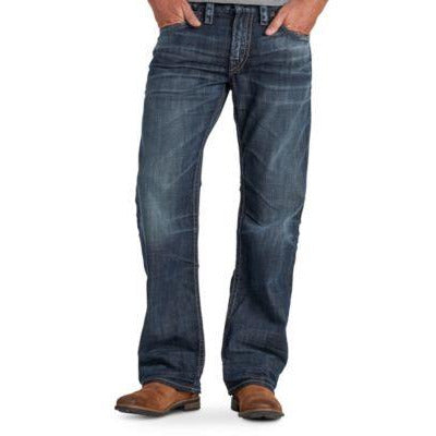 Silver® Jeans Co. Men's Casual ZAC relax fit Dark  wash 42/32