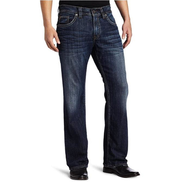 Silver® Jeans Co. Men's Casual ZAC relax fit Dark  wash 38/32