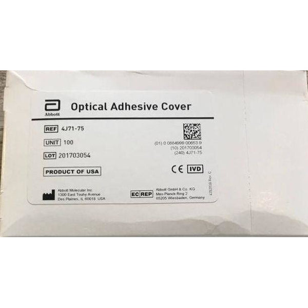 Abbott Optical Adhesive cover 4J71-75