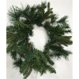Christmas fir & pine wreath natural look 20''