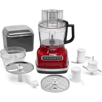 KitchenAid® 11-Cup Food Processor with ExactSlice™ System, Empire Red (KFP1133ER)
