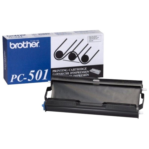 Original Brother PC-501 FILM CARTRIDGE AND ROLL for Brother Fax 575