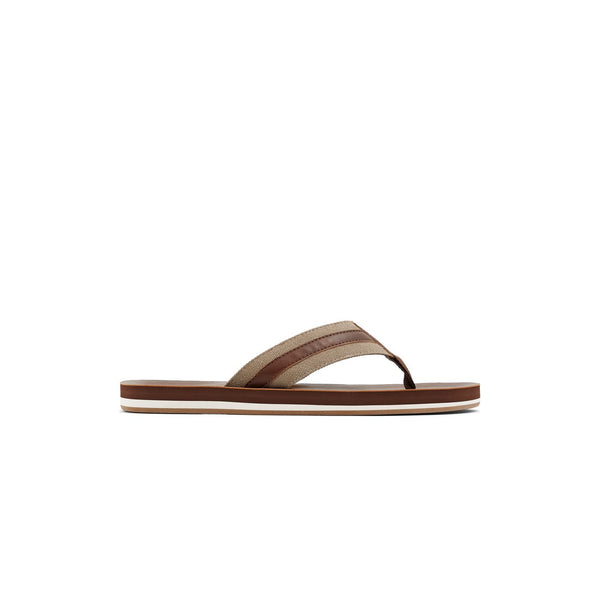 Men Brown Fashion Flip-flop