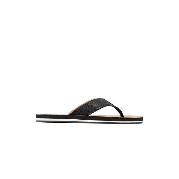 Men Black Fashion Flip-flop