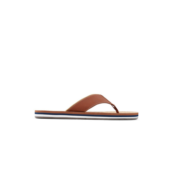 Men Cognac Fashion Flip-flop