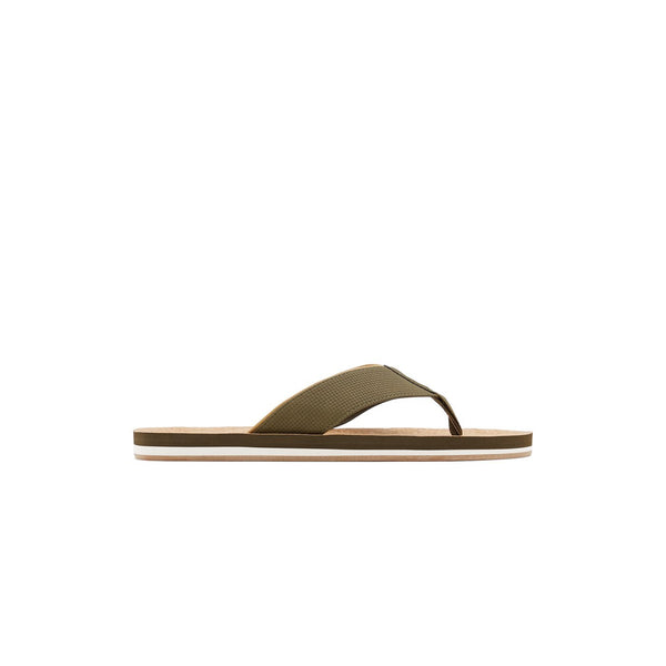 Men Kaki Fashion Flip-flop