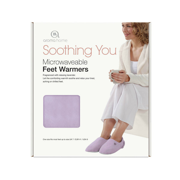 Feet and Neck Warmers Microwaveable - Aroma Home Gift Set