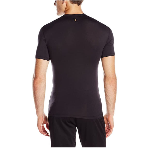 Tommie Copper Men's Core Compression Short Sleeve Crew Neck Shirt-Xlarge
