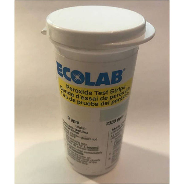 Very High Level Peroxide Test Strips, 0-5000 ppm-Ecolab
