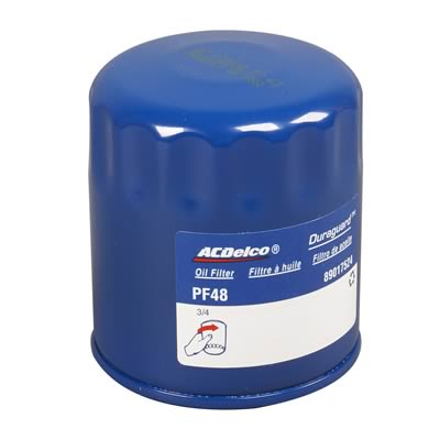 4x ACDelco Professional Oil Filters PF48 /  89017524