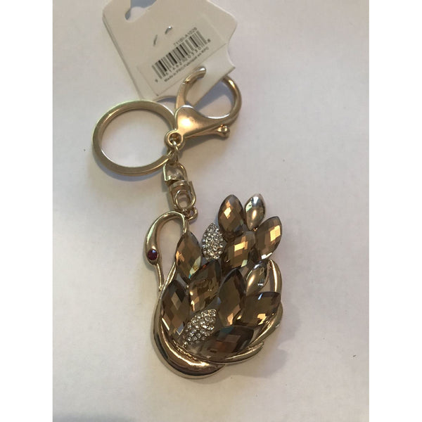 Beautiful Swan Key Chain/ Purse ornement
