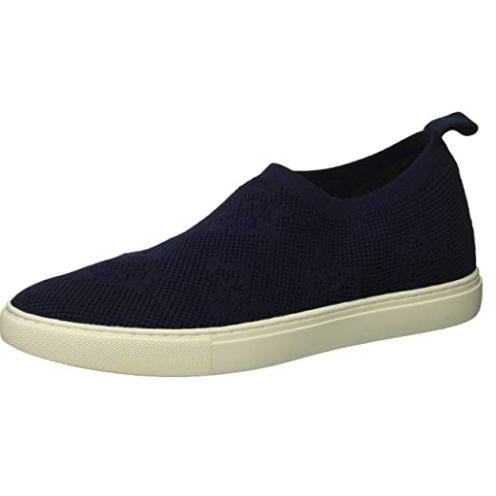 Kenneth Cole New York Femmes Keely Floral Stretch Knit Sneaker - Navy