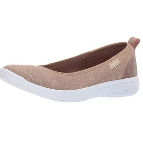 Kenneth Cole REACTION Women's Ready Ballet Slip on Sneaker - Taupe