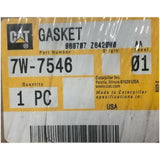 Caterpillar 7W-7546 Gasket New Factory Packing Sealed