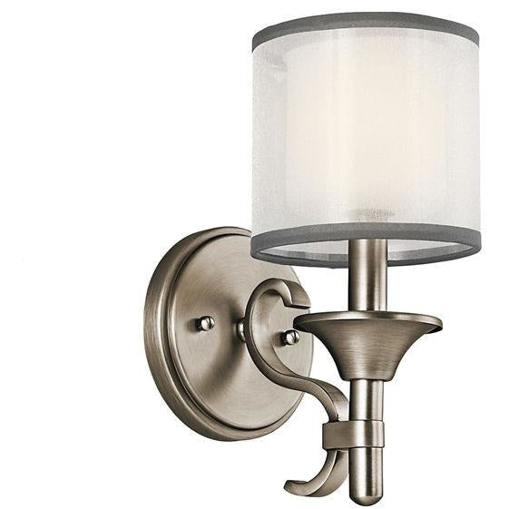 Lacey™ 1 Light Wall Sconce Antique Pewter