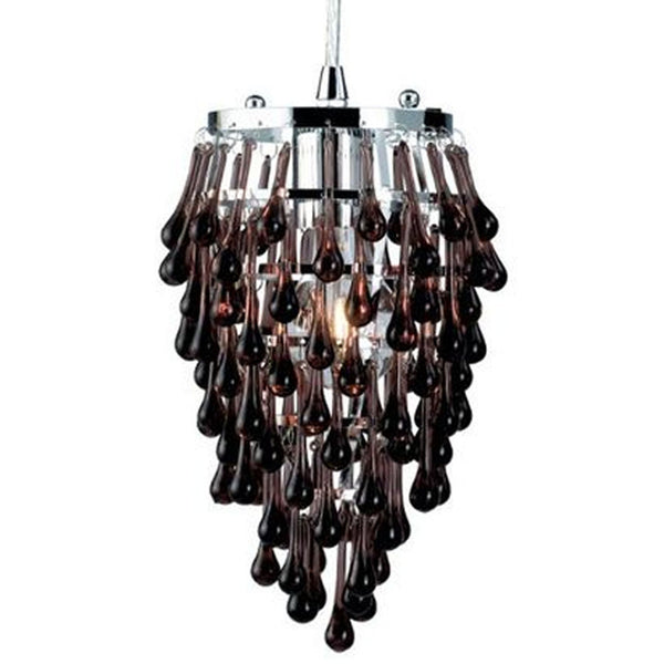 Eurofase Lighting Vidal 1 Light Crystal Mini Pendant