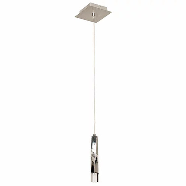 Modern Single Pending Chrome light - Cromo Collection