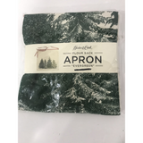 Hester & Cook floour sack apron ''evergreen''