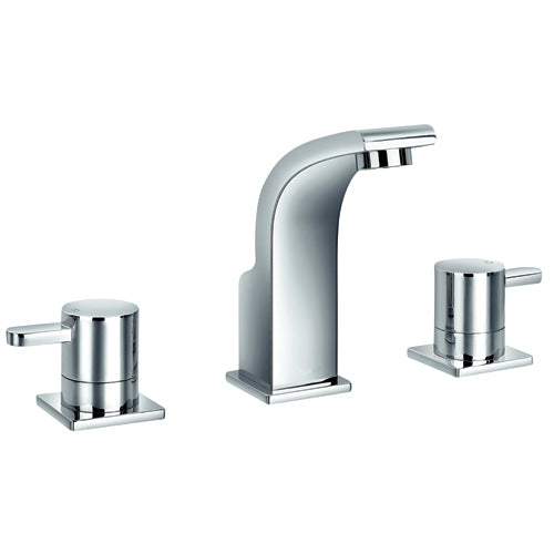 "Jalo ""Wave"" Lavatory/sink/bathroom Faucet 8'' - The Liquidation Club"