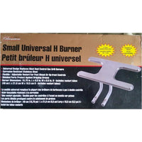 Mr.Bar-B-Q Premium Small Universal H Burner With Tubes - The Liquidation Club