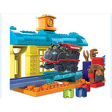 Mega Bloks Chuggington Puffer Pete at Repair Shed 96611-Collectible/Rare - The Liquidation Club