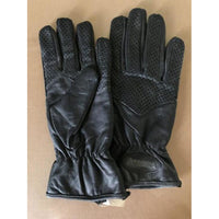 Angora Motocycle Leather Motorcycle Gloves- Men Small - The Liquidation Club