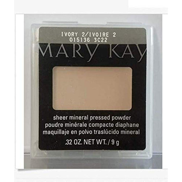 Mary Kay® Sheer Mineral Pressed Powder-Ivory2-Brand New - The Liquidation Club