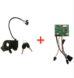 Throttle and Keybox for WIDEWHEEL
