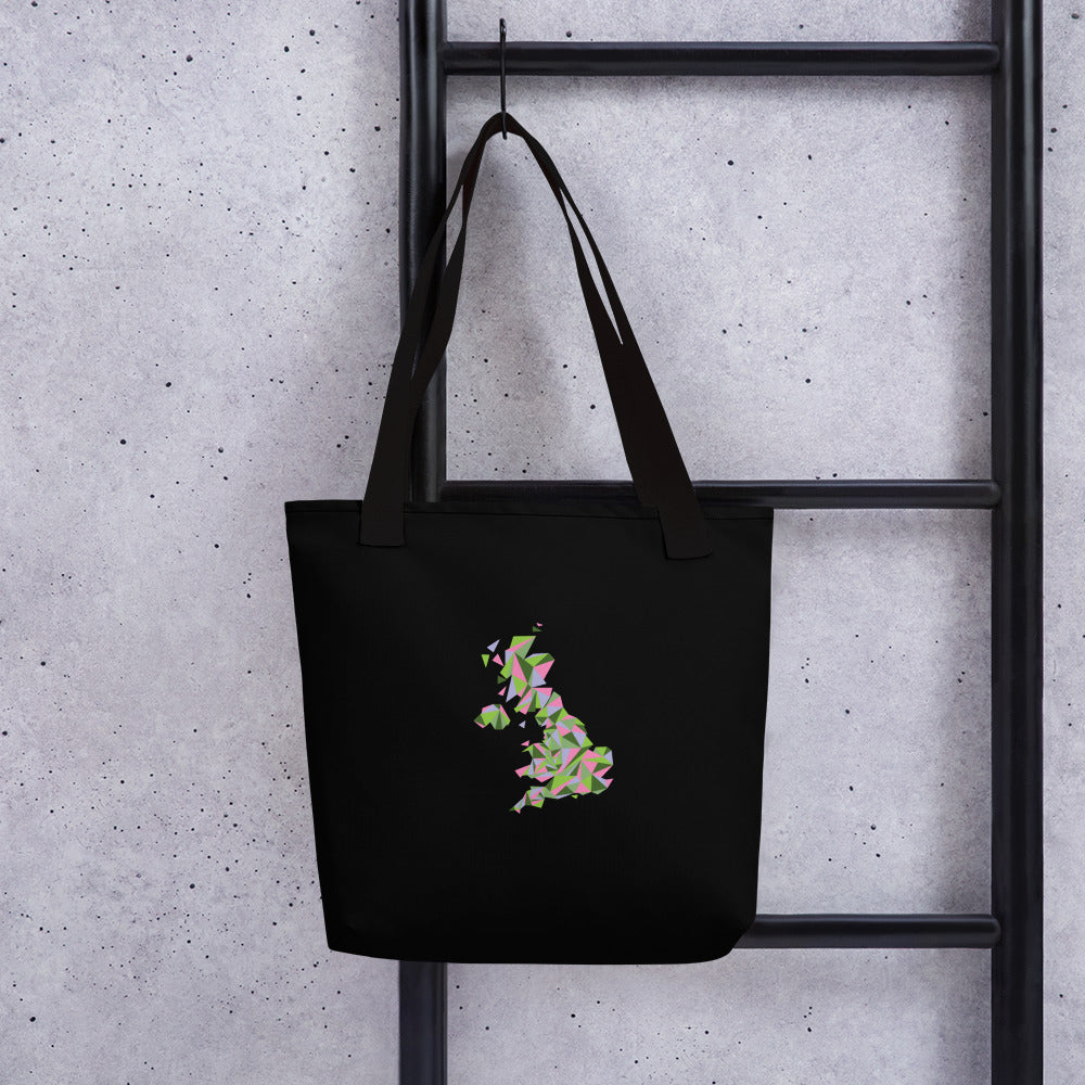 United Kingdom Spring Bloom Tote Bag