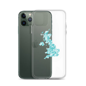 United Kingdom Winter Crystal iPhone Case