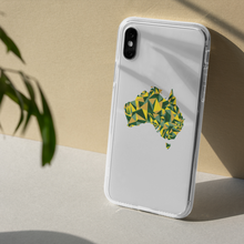 Load image into Gallery viewer, Australia Evergreen Gold iPhone Case