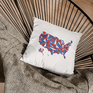 United States Patriot Throw Pillow Cover