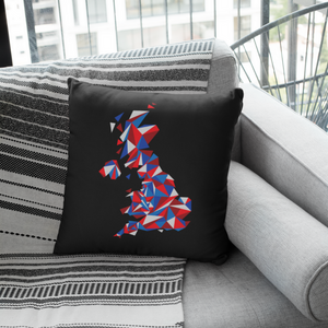 United Kingdom Patriot Throw Pillow Cover