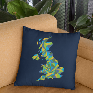 United Kingdom Summer Nights Throw Pillow Cover