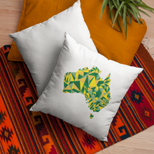 Load image into Gallery viewer, Australia Evergreen Gold Throw Pillow Cover