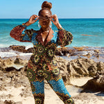 Beau Power Suit: Jungle Fever Print