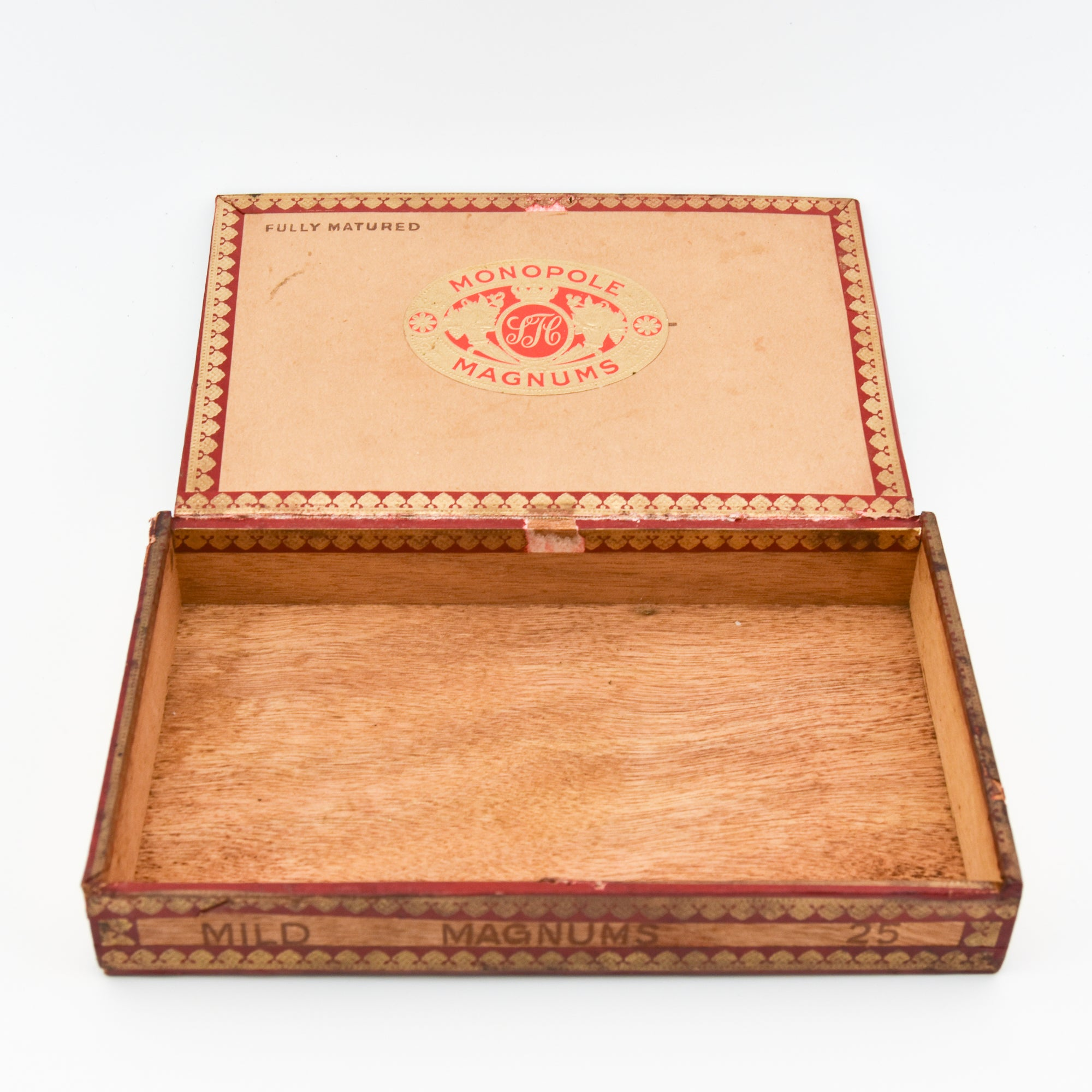 Monopole Mild Magnums Cigar Box