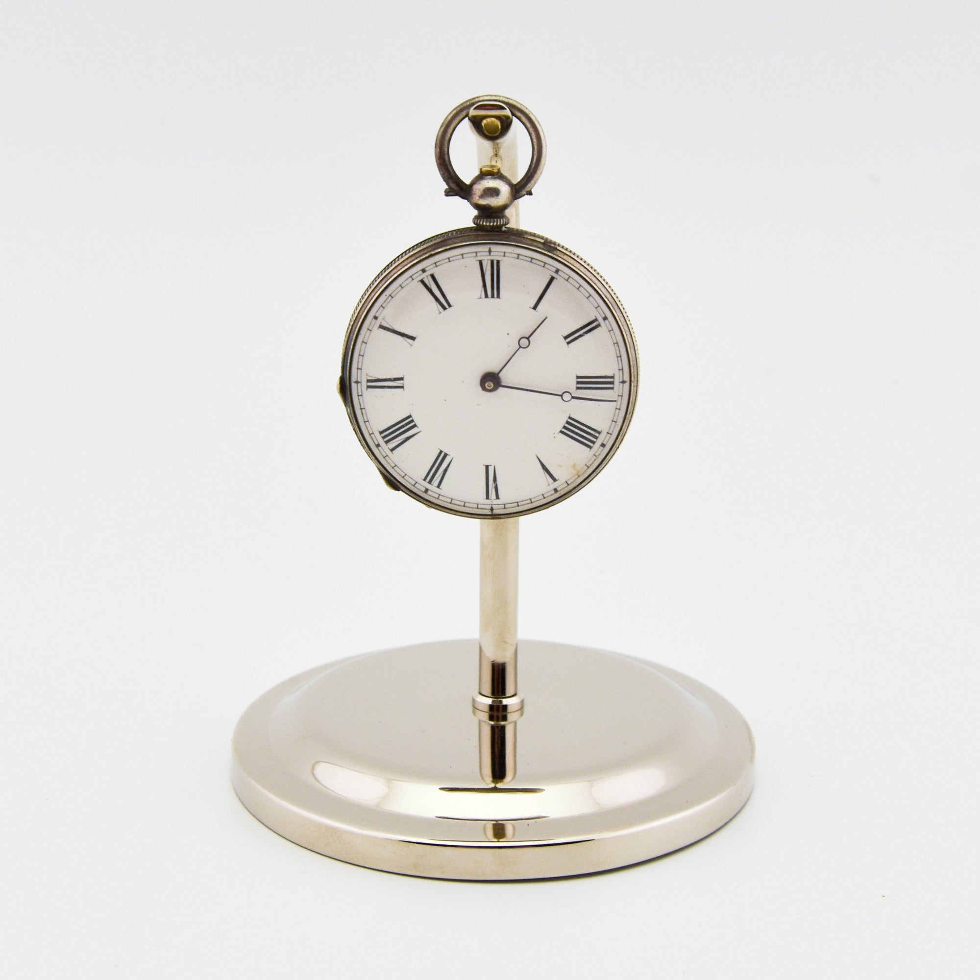 Silver Pocket Watch Stand